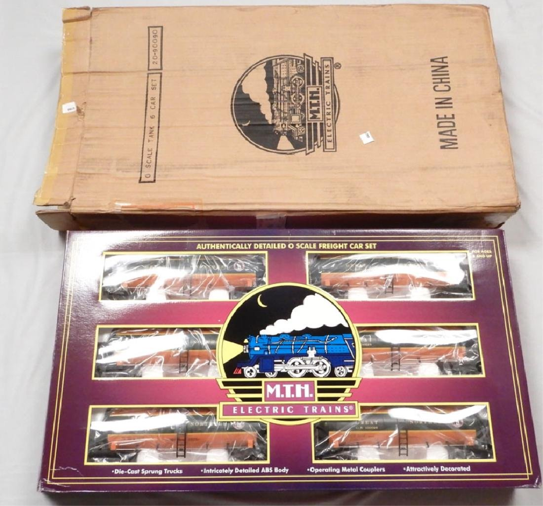 MTH Great Northern Tank Car 6-car set in original box