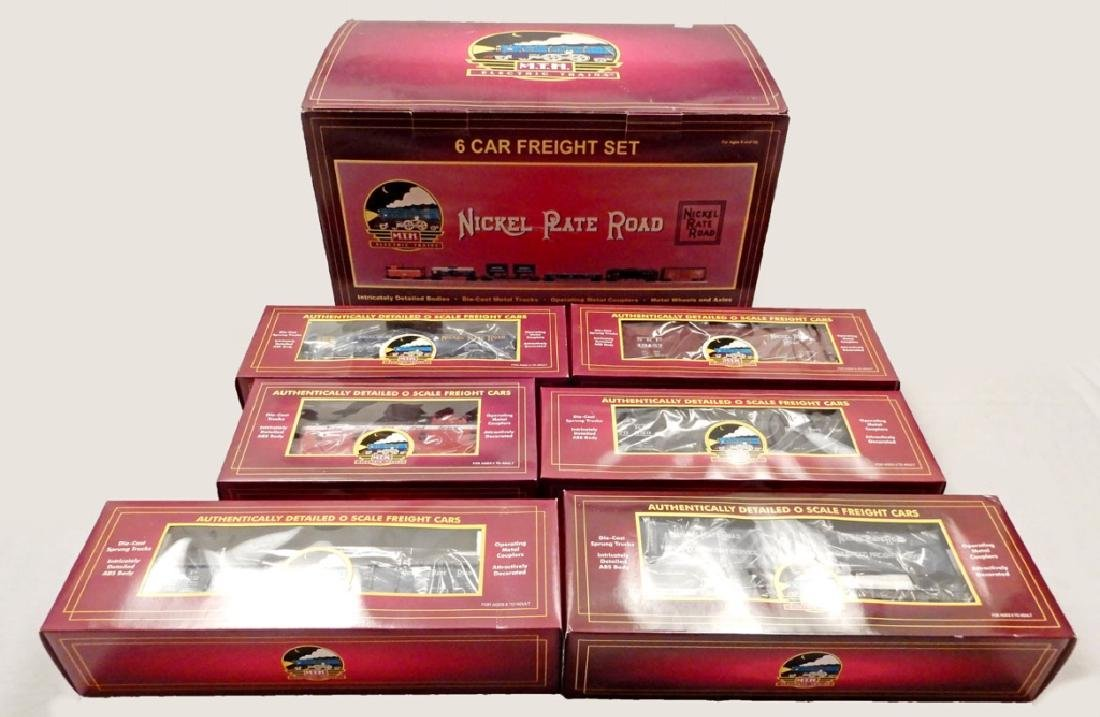 MTH Nickel Plate Road 6-car Freight Set in box