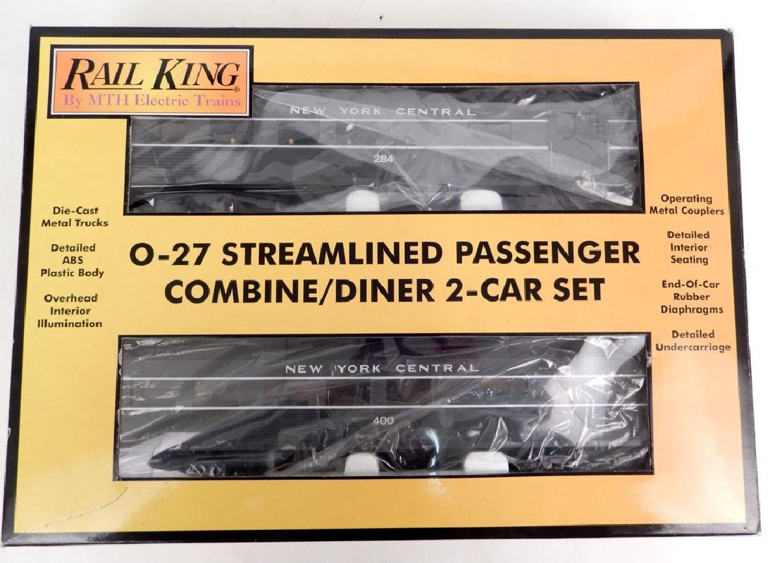 Rail King New York Central Combine/Diner Set in box