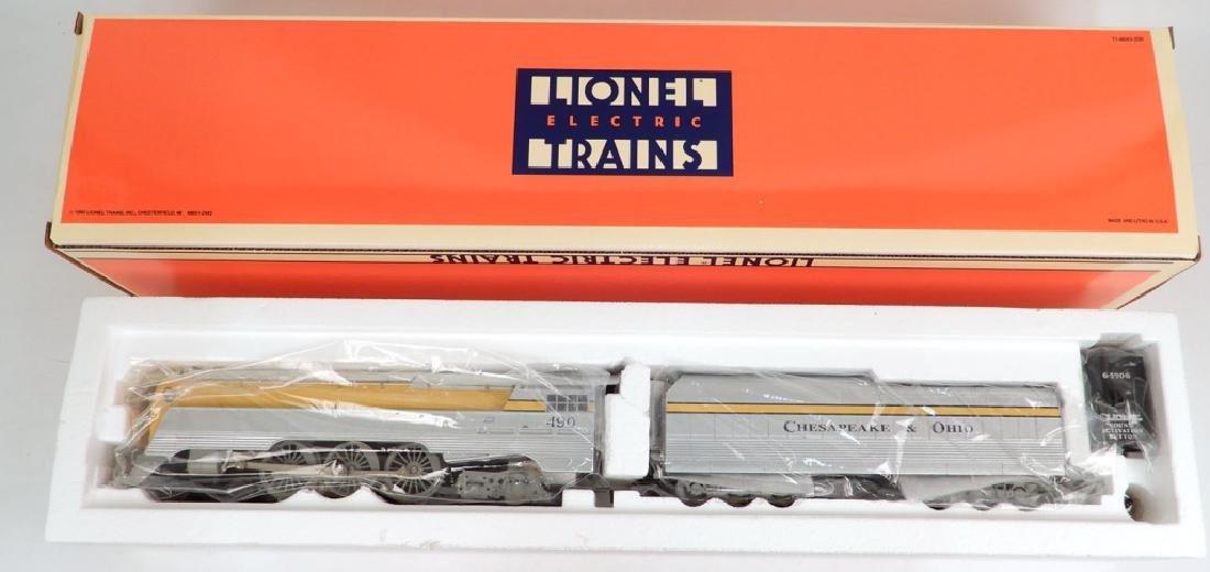 Lionel C&O semi-scale Streamline Hudson loco & tender