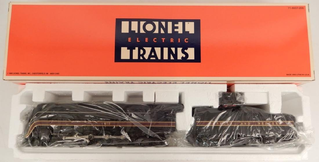 "Lionel 4-8-4 Norfolk & Western ""J"" locomotive & tender"