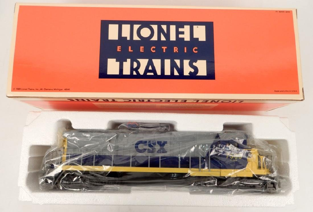 Lionel CSX Dash 8 40-C Diesel Engine Number 7500 in box
