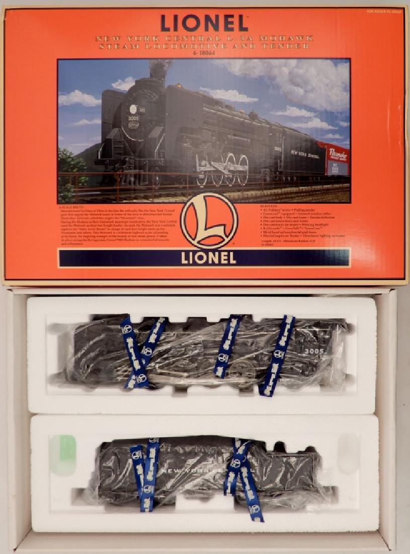 Lionel New York Central L-3A Mohawk Steam Locomotive in