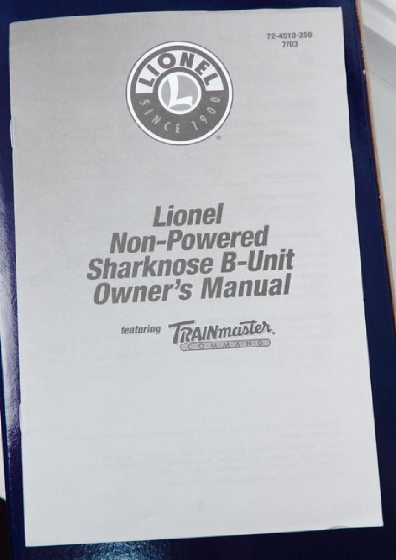Lionel Pennsylvania Sharknose B Unit in original box - 4