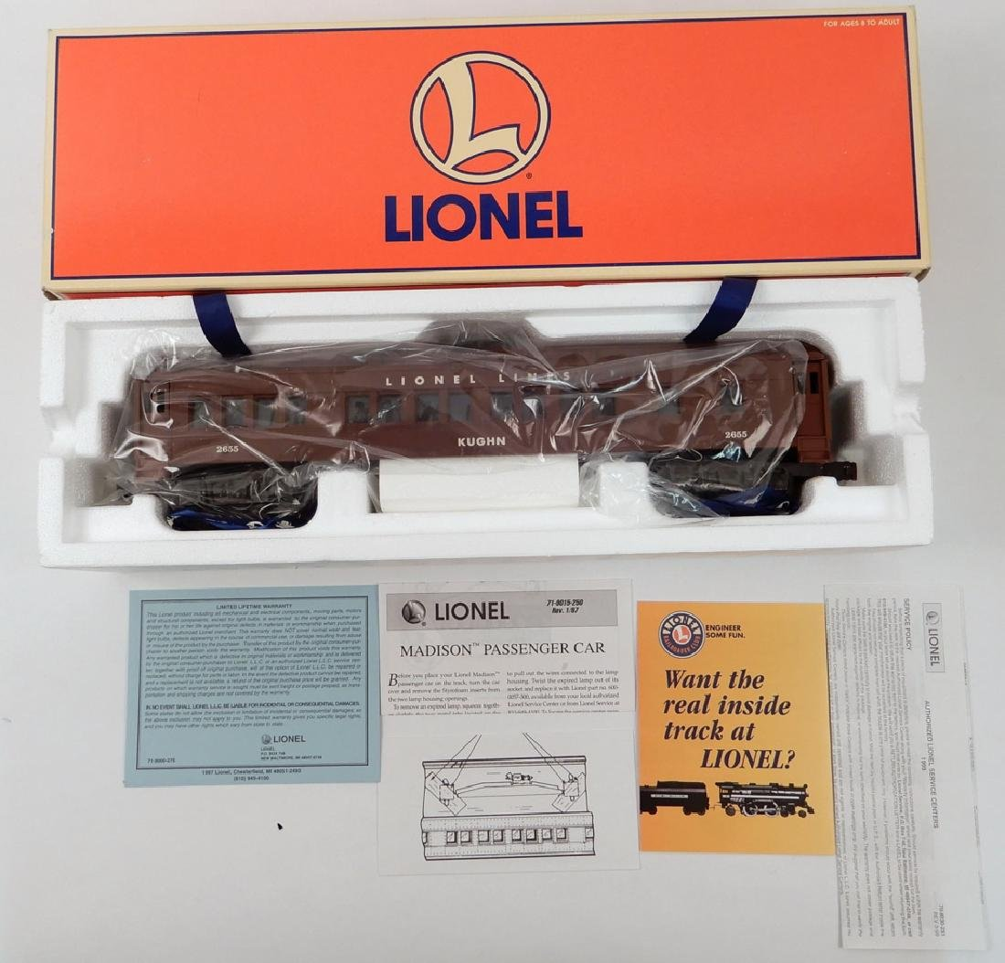 Lionel Madison Car Legends of Lionel Kughn in box