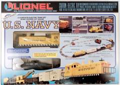 Lionel US Navy freight set in original box