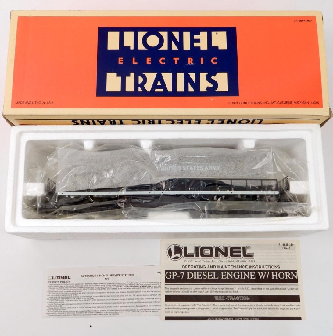 Lionel U.S. Army GP-7 in original box
