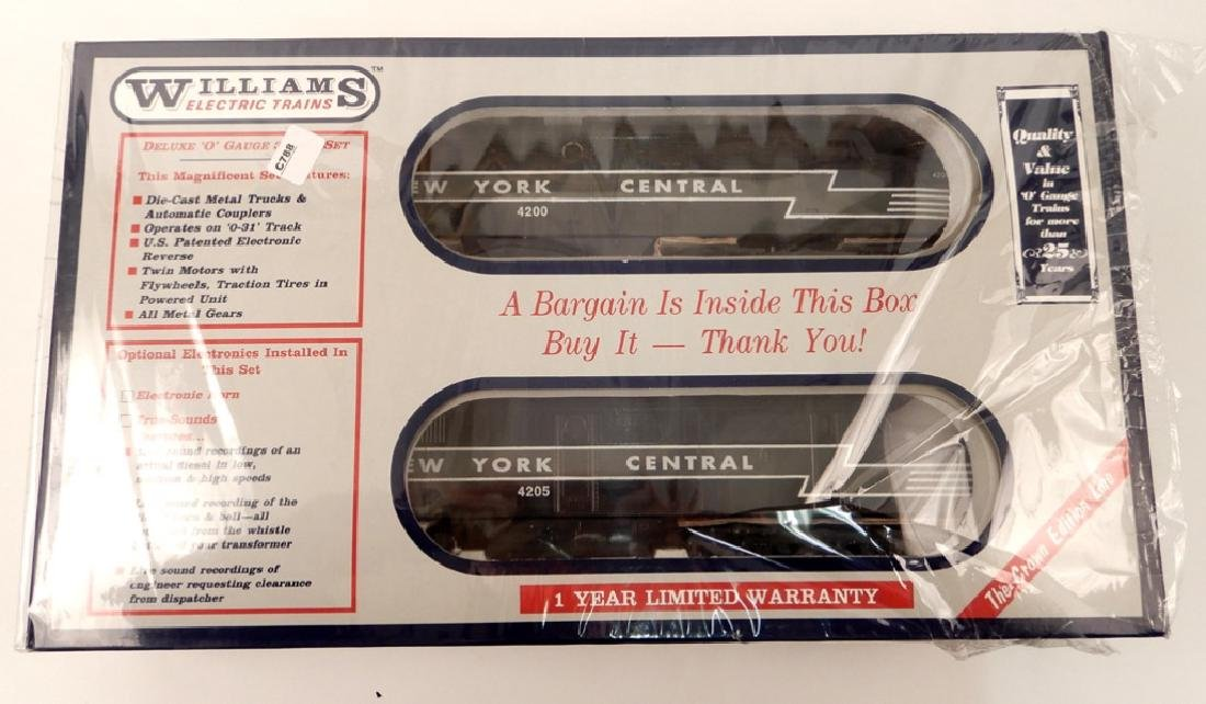 Williams NYC Alco PA A-A in original box