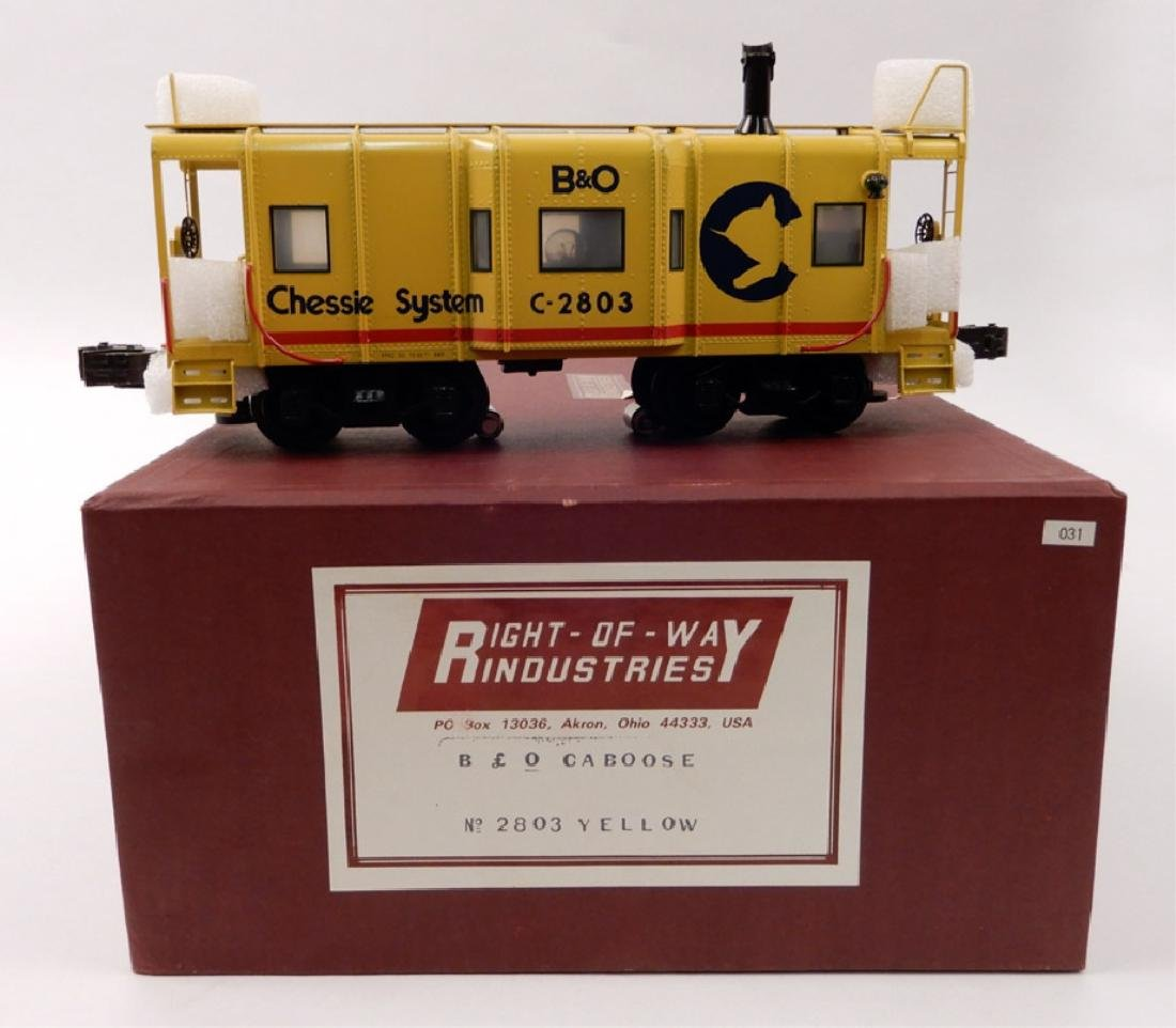 Right of Way Industries B&O Caboose in original box