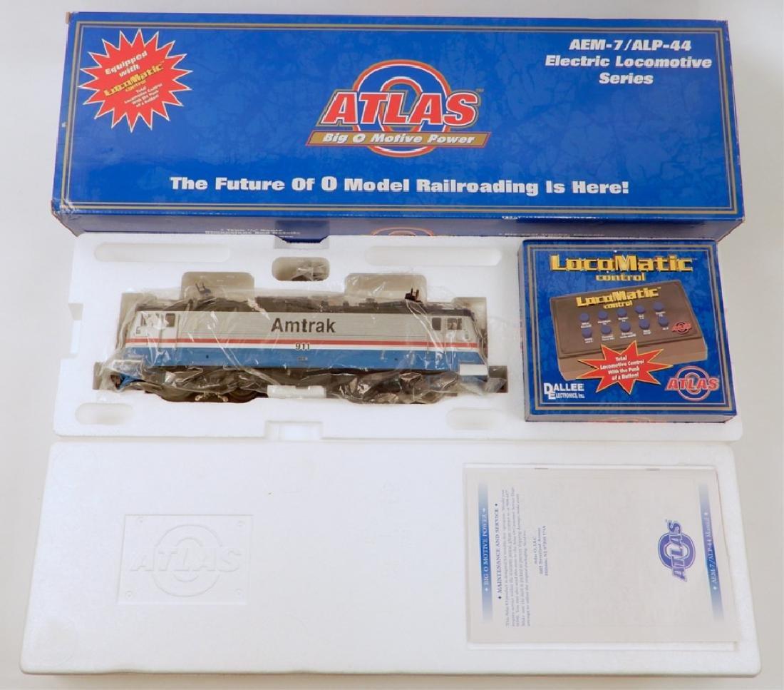 Atlas AEM-7 electric locomotive in original box
