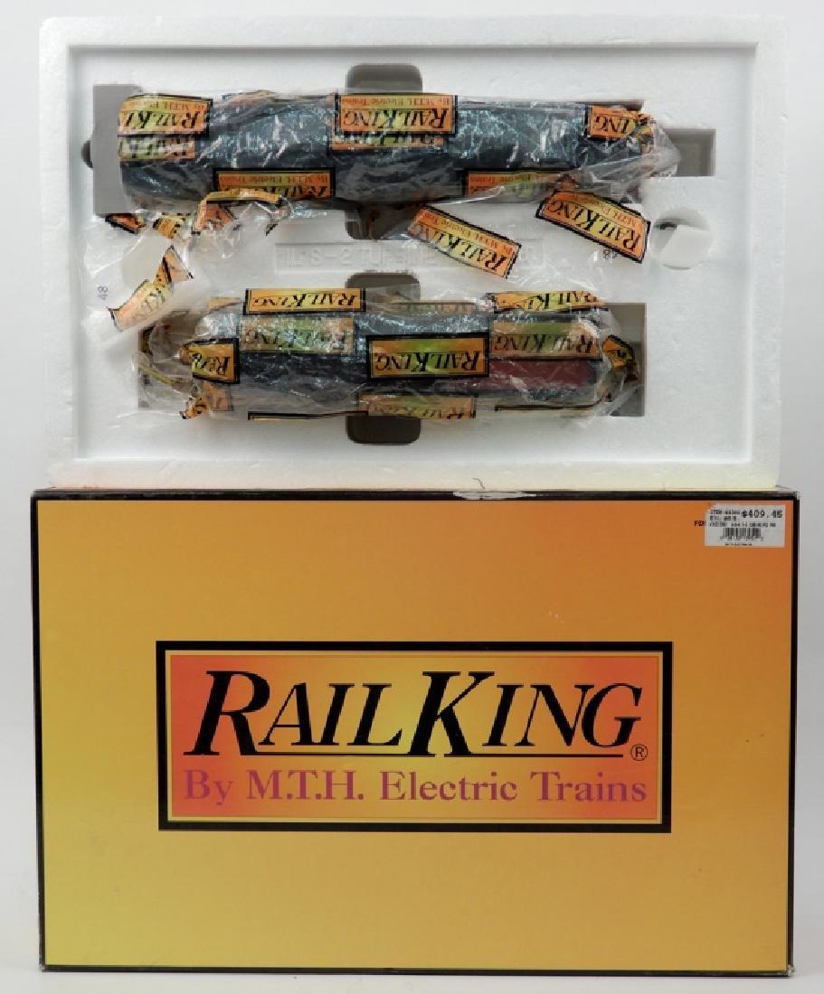 Rail King 6-8-6 S-2 Turbine Steam Engine in box