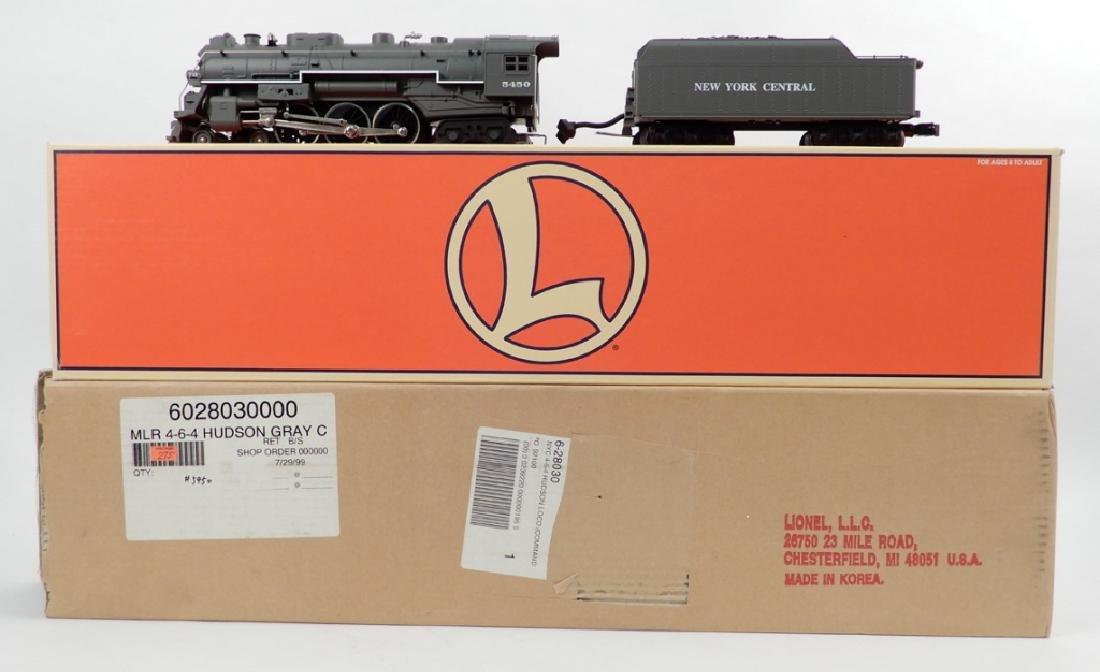 Lionel 4-6-4 Hudson & 4-6-2 Pacific Steam locomotive in