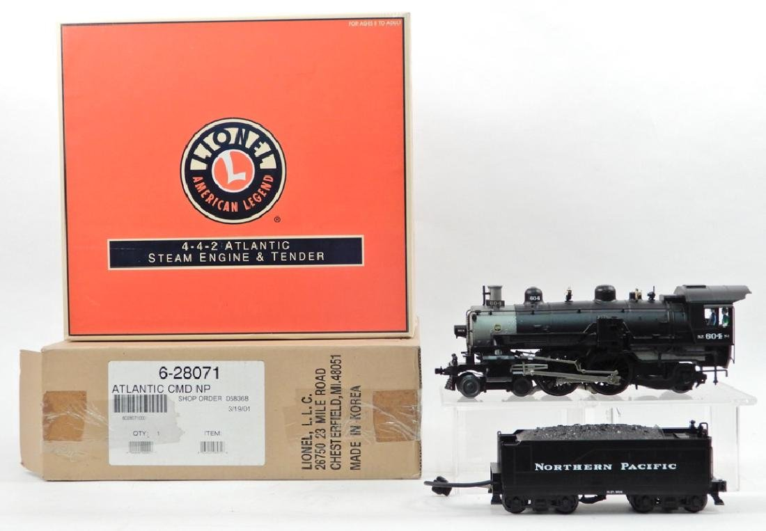 Lionel Northern Pacific 4-4-2 Atlantic Steam Engine &