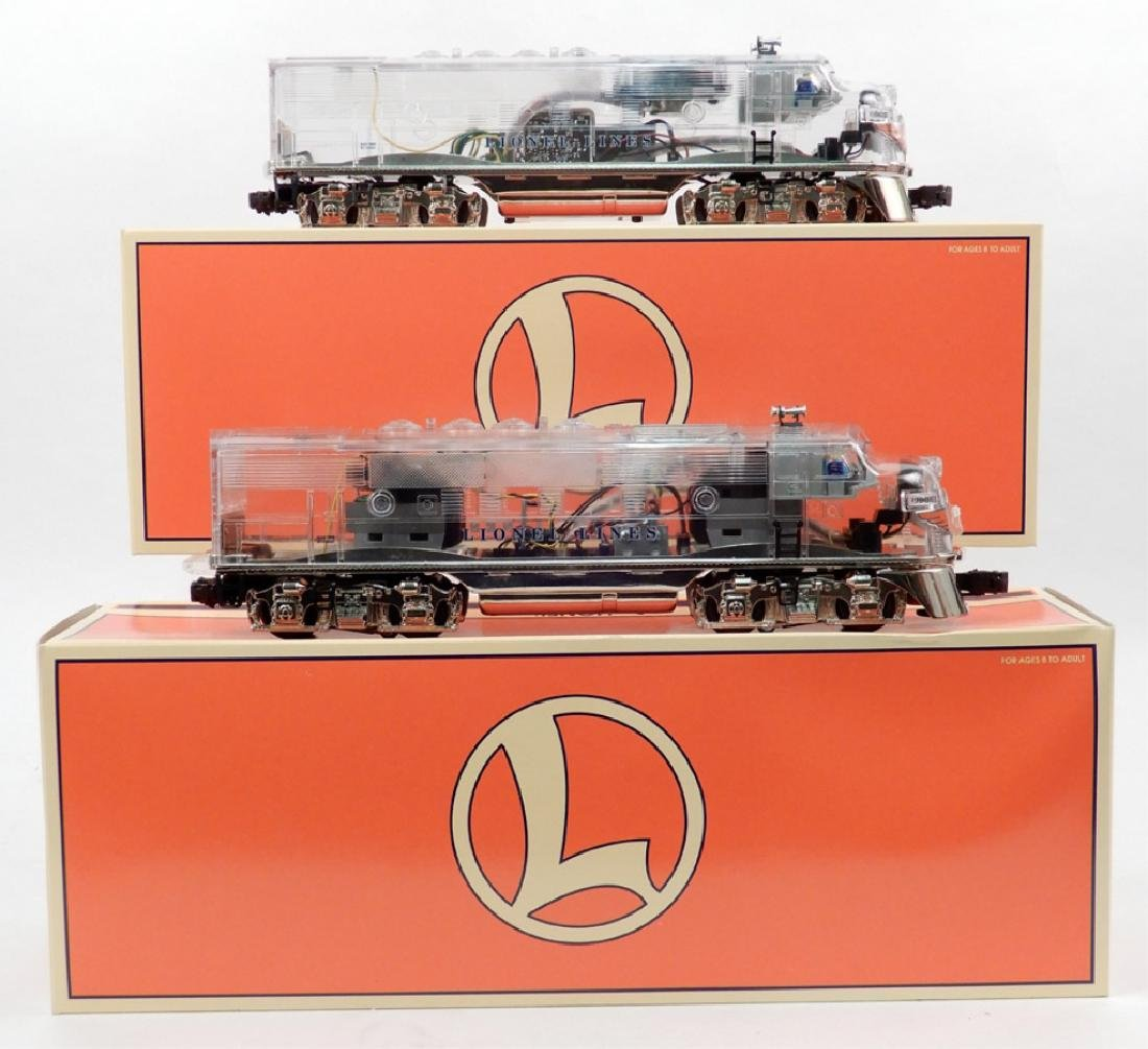 Lionel Platinum Ghost F3 A-A diesels in original box