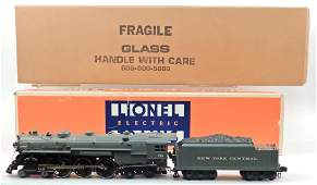 Lionel NYC 4-6-4 Hudson with display case