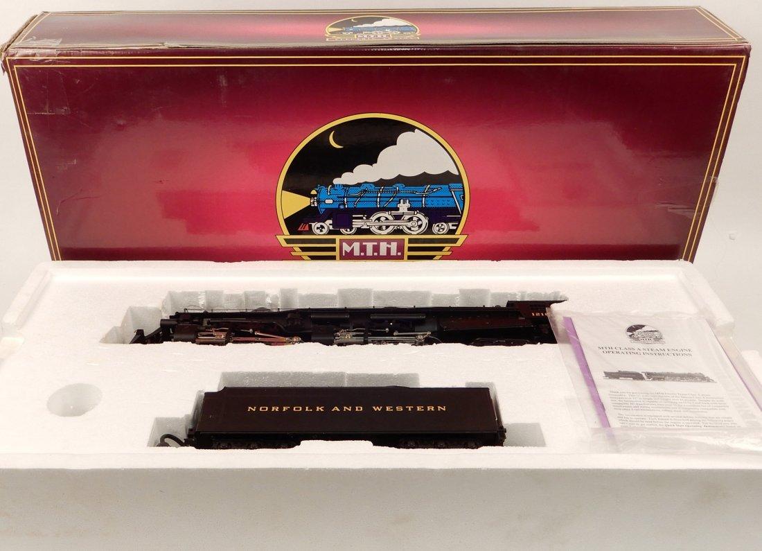 MTH Norfolk & Western 2-6-6-4 Class A Steamer in box