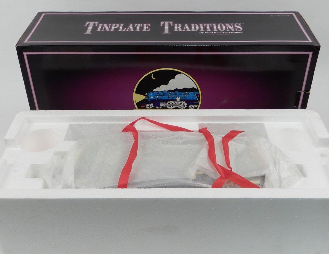 MTH Tinplate Traditions No. 9E Standard Gauge Steam