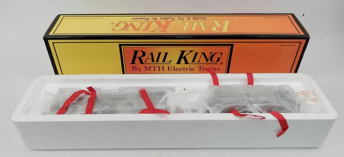 Rail King Pacific Steam Engine in original box