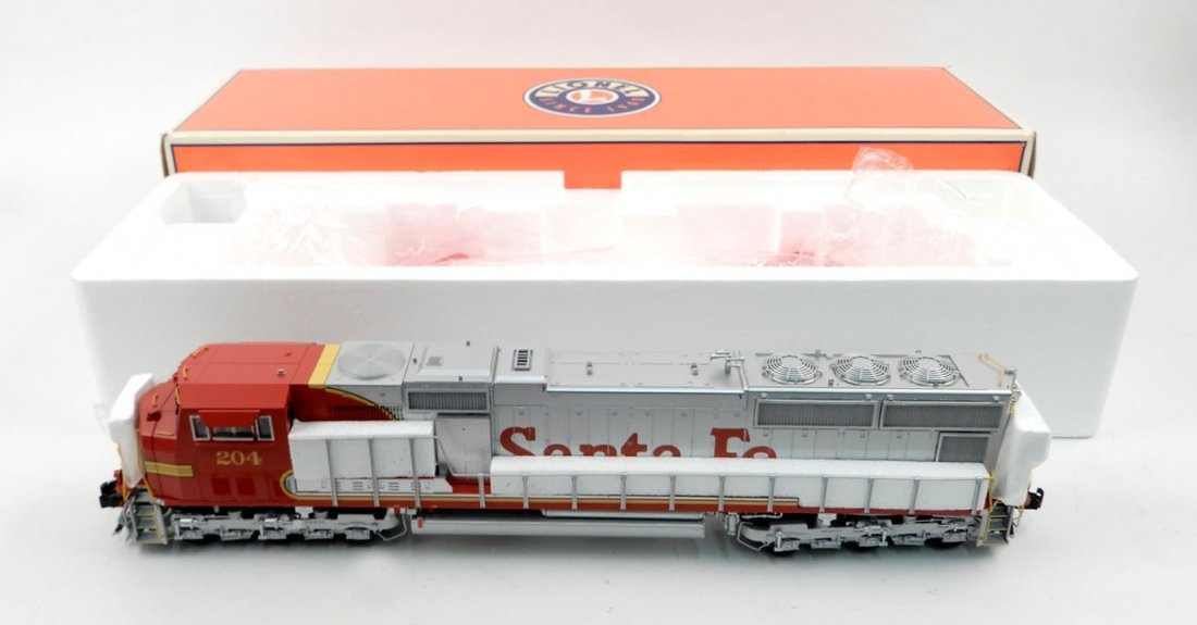 Lionel Santa Fe SD75 Diesel #204 in original box,