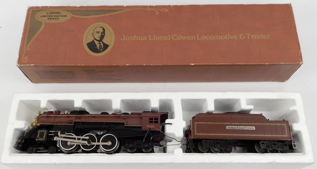 Lionel Joshua Lionel Cowen locomotive and tender in box