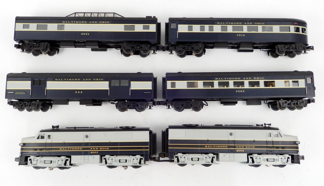 Rail King MTH Baltimore & Ohio F3 AA Diesel 2-unit set
