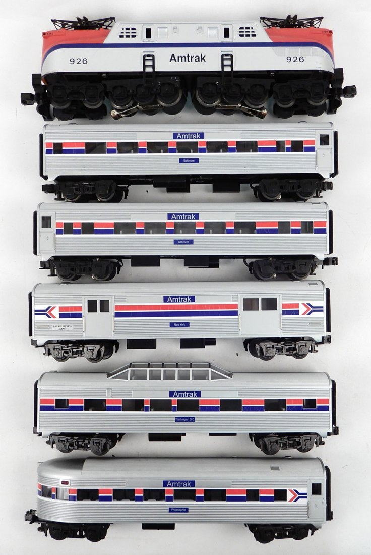 MTH Amtrak GG-1 and five passenger cars, Amtrak 926
