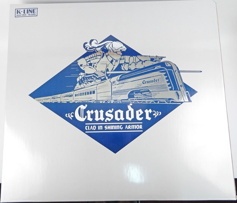 K-Line Crusader Passenger train set in original box