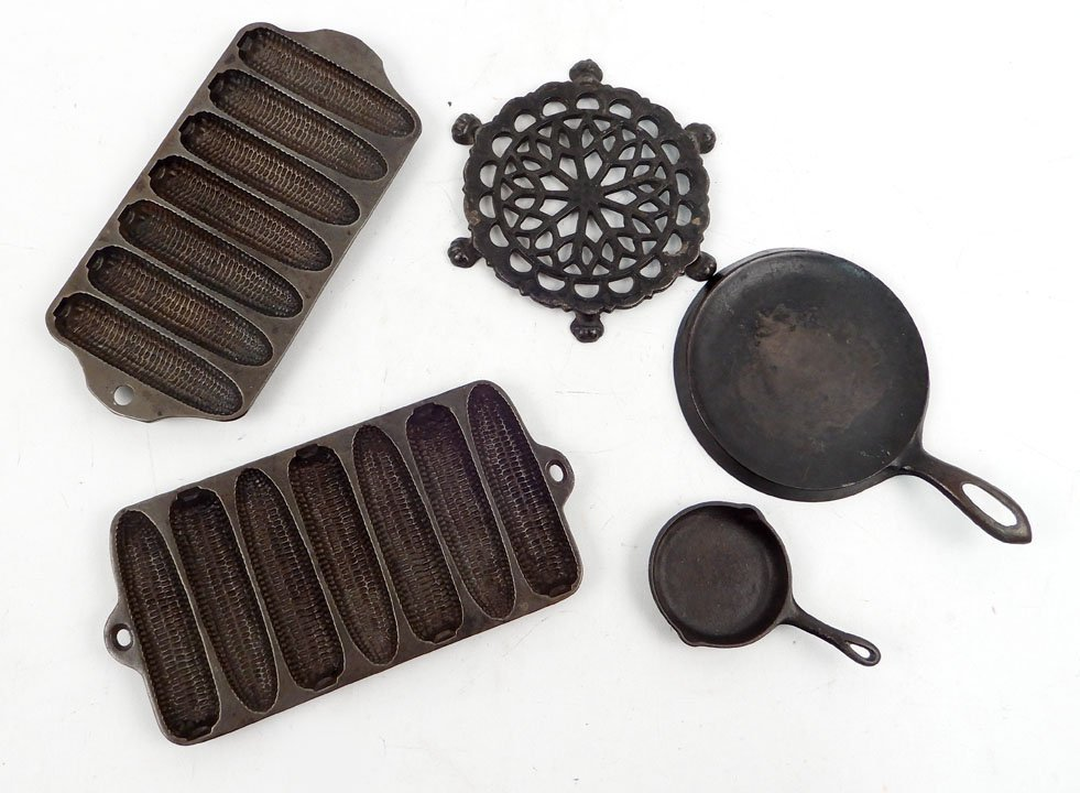 Child's iron Kitchenware, includes Griswold cast iron