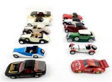 Solido and Corgi Toy cars nine Solido automobiles