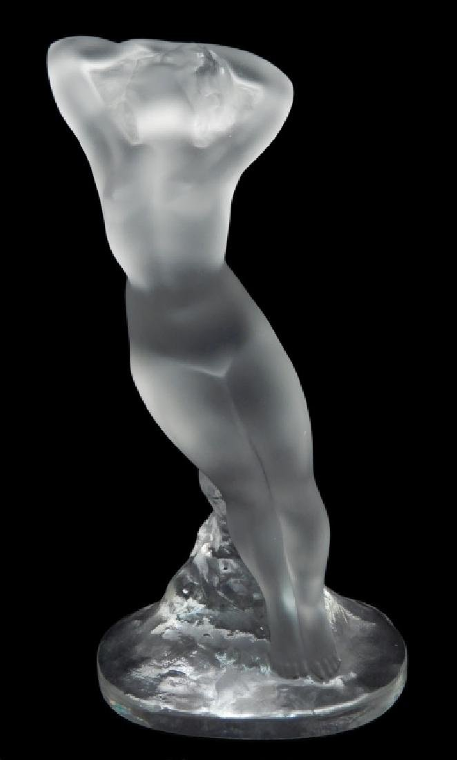 Lalique Nude Dancer Arm Up