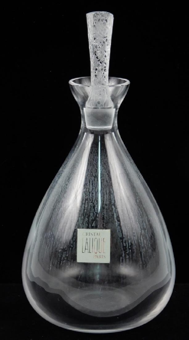 Lalique crystal Phalsbourg decanter
