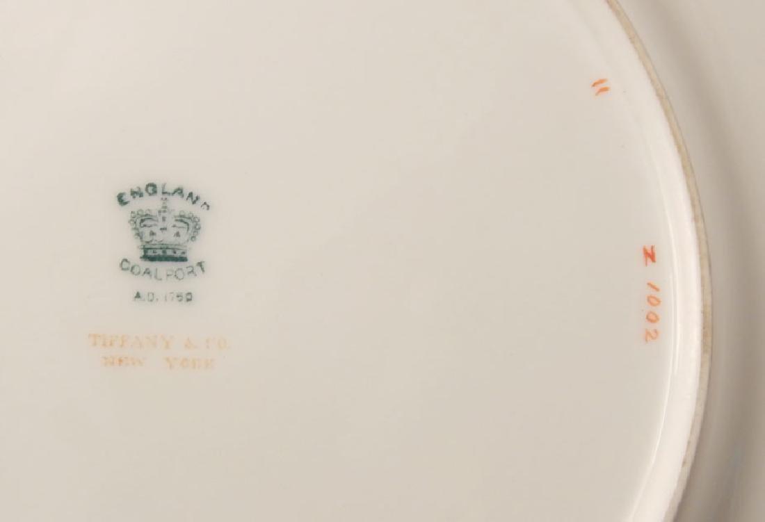 Eleven Coalport porcelain luncheon plates Panel pattern - 3