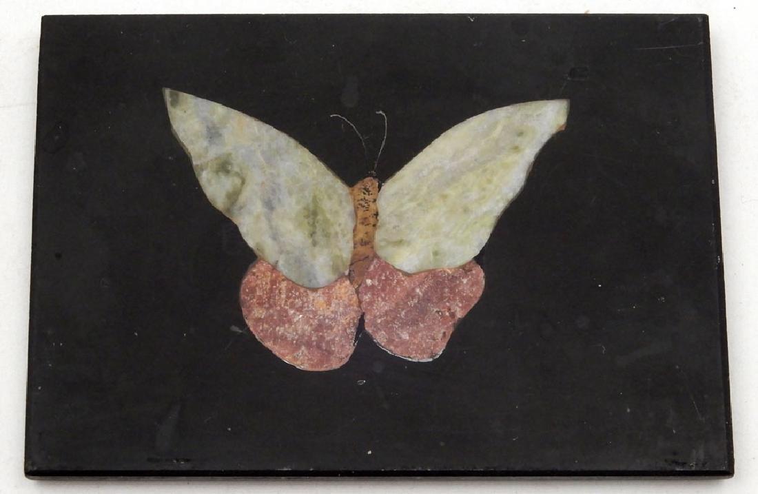 Three pieta dura plaques - 3