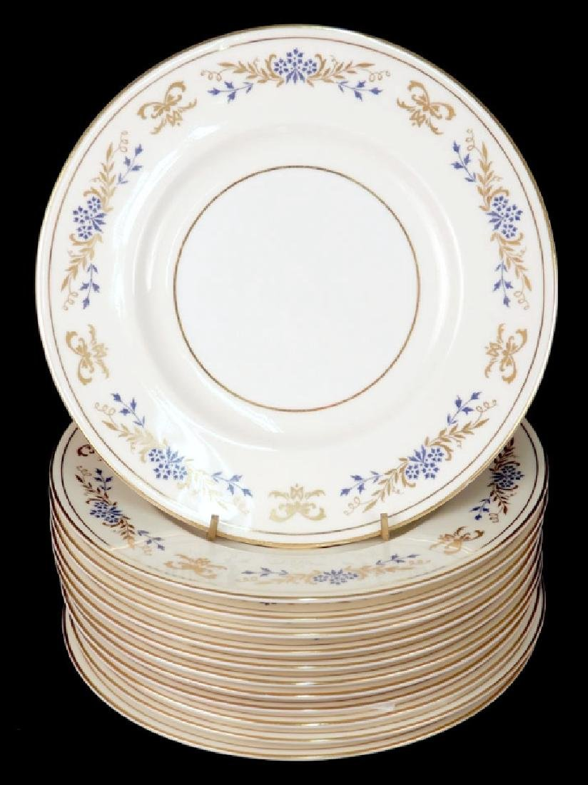 Set of twelve Minton porcelain plates