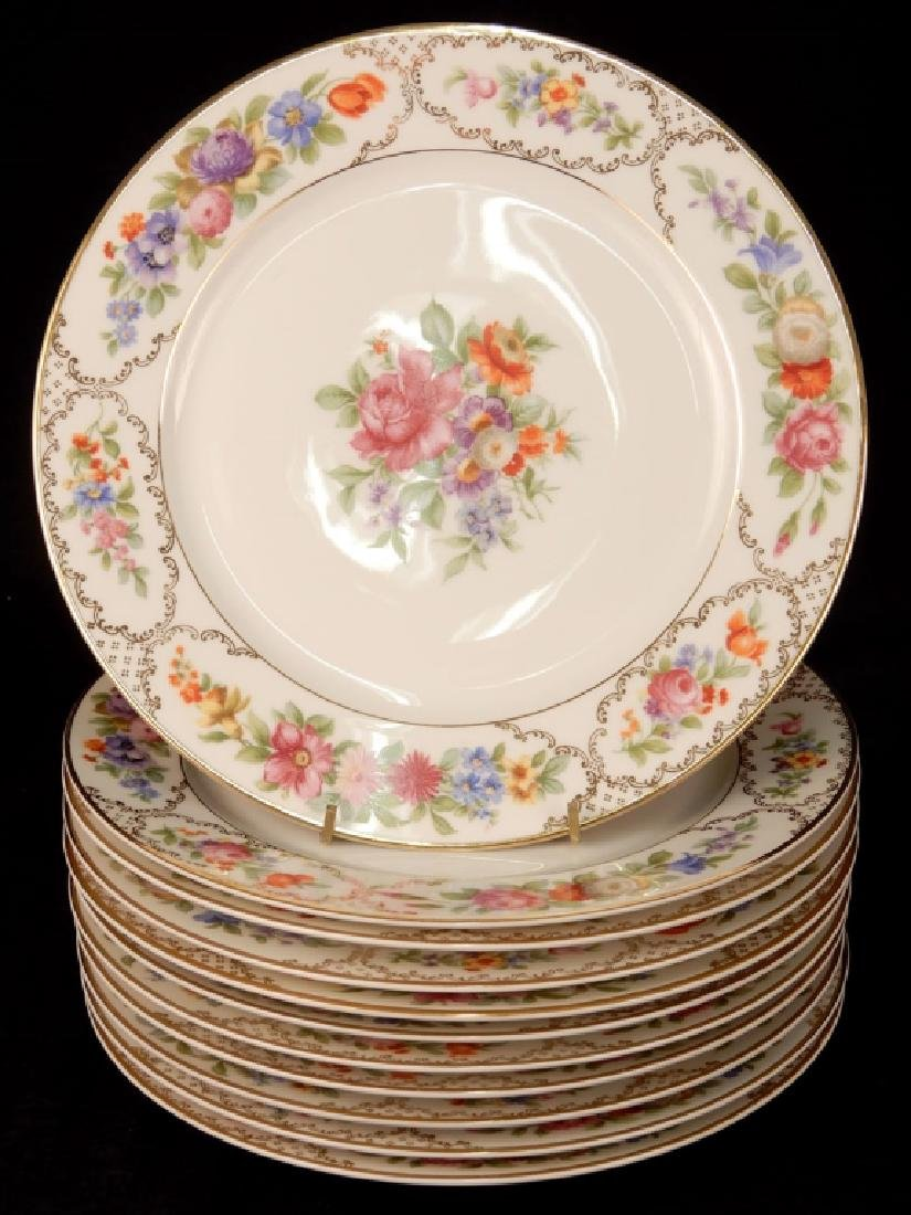 Set of eleven Rosenthal The Dresden dinner plates