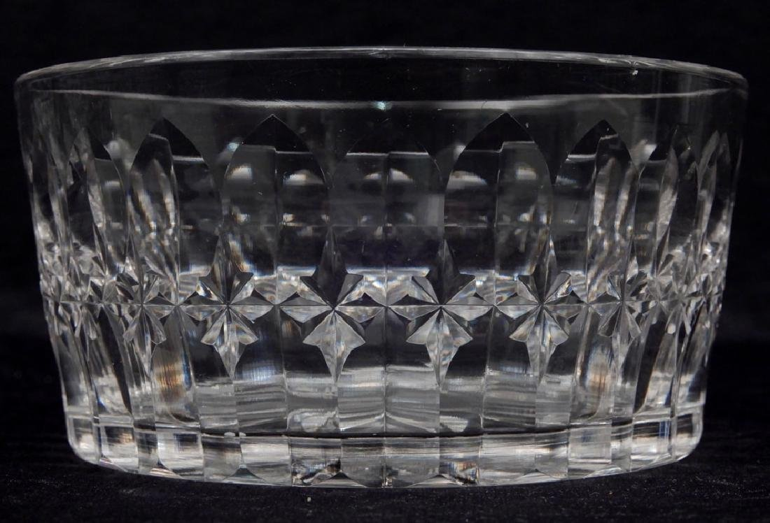 Set of eight Hawkes cut glass finger bowls - 3
