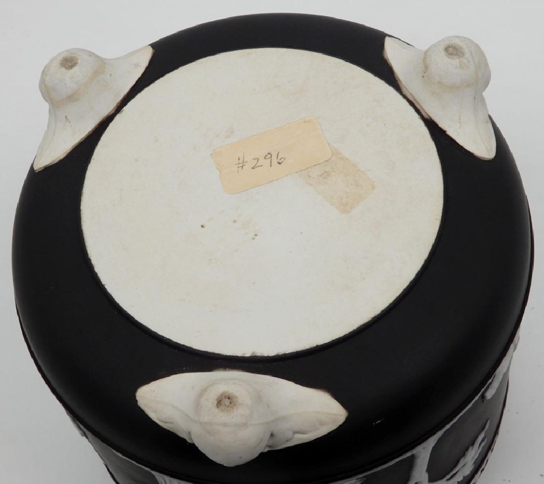 Wedgwood black basalt jasperware cachepot - 3