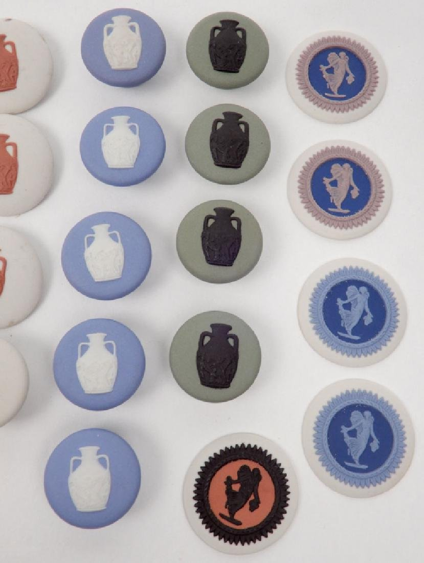 Grouping of Wedgwood jasperware buttons - 3