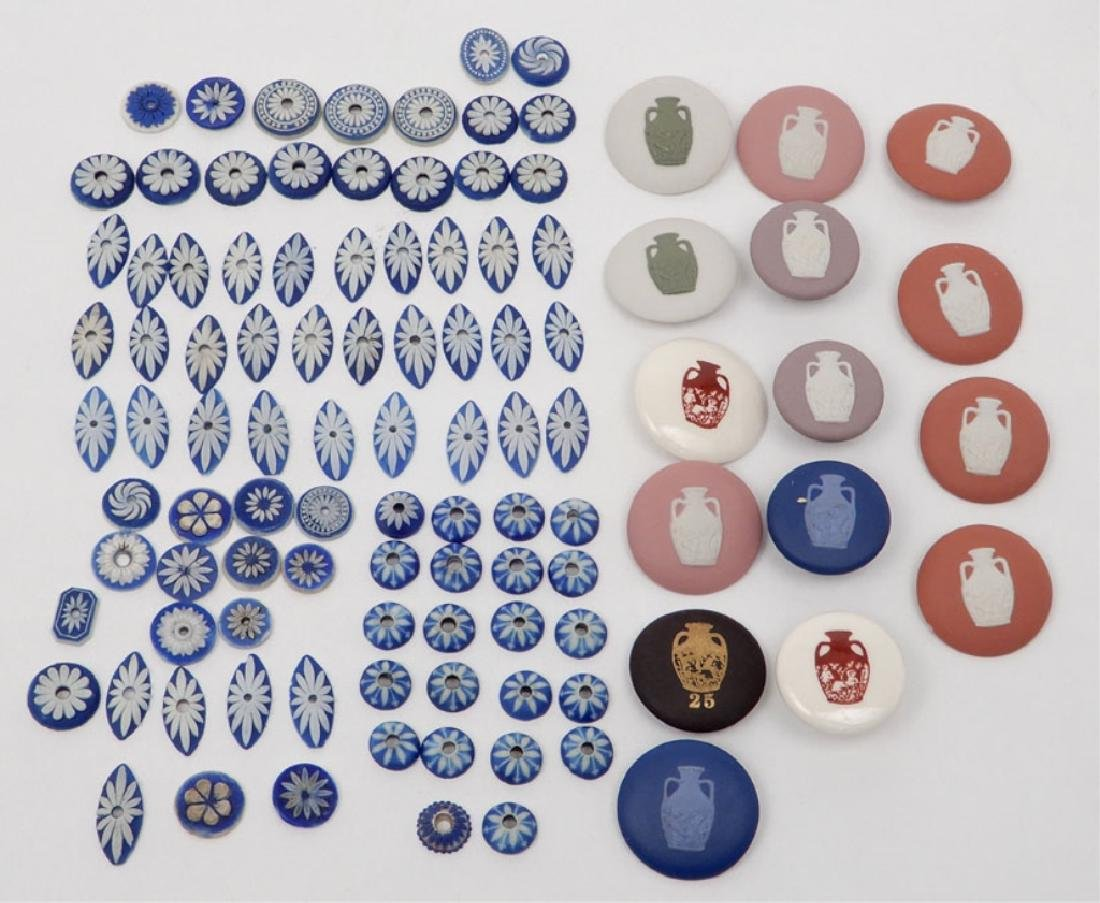 Large collection of Wedgwood jasperware items
