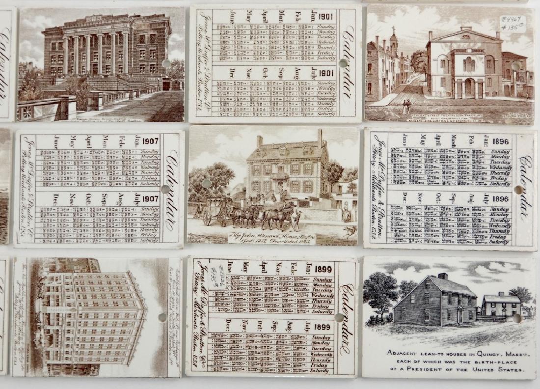Twenty-five Wedgwood Calendar tiles - 3