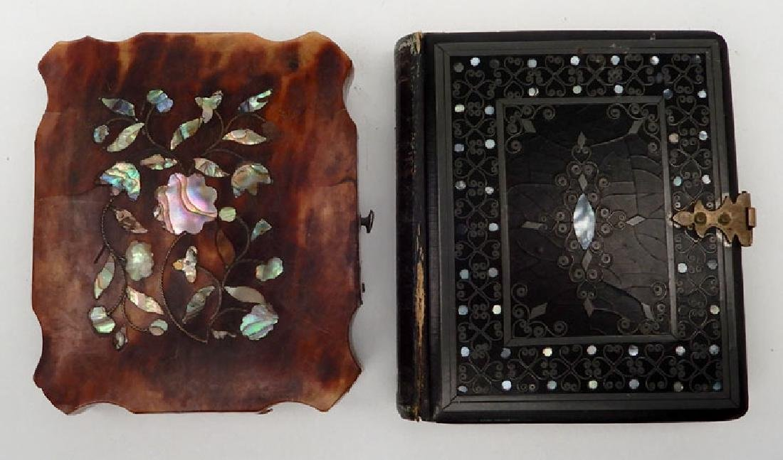 Five Daguerreotypes and ambrotypes in inlaid cases - 3