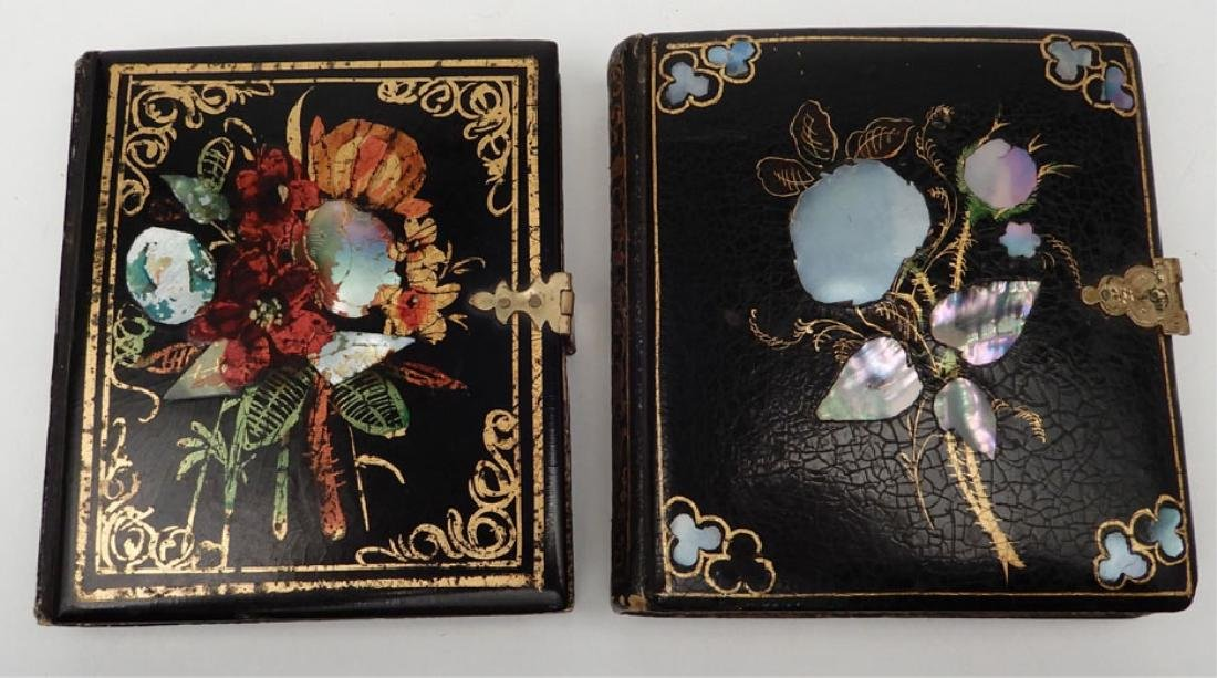 Five Daguerreotypes and ambrotypes in inlaid cases - 5