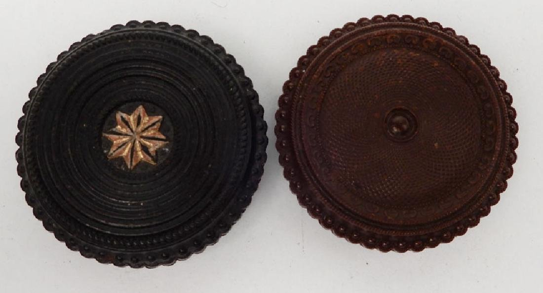 Four tintypes and ambrotype in oreo union cases - 7