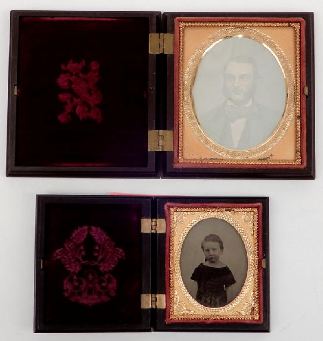 Seven Daguerreotypes and ambrotypes - 6