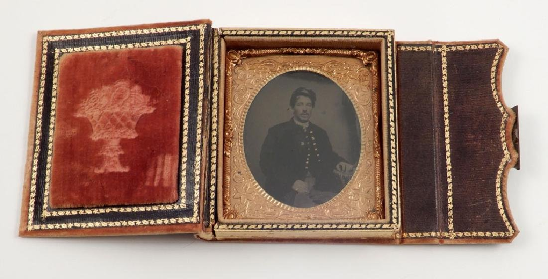 Civil War tintype of a soldier