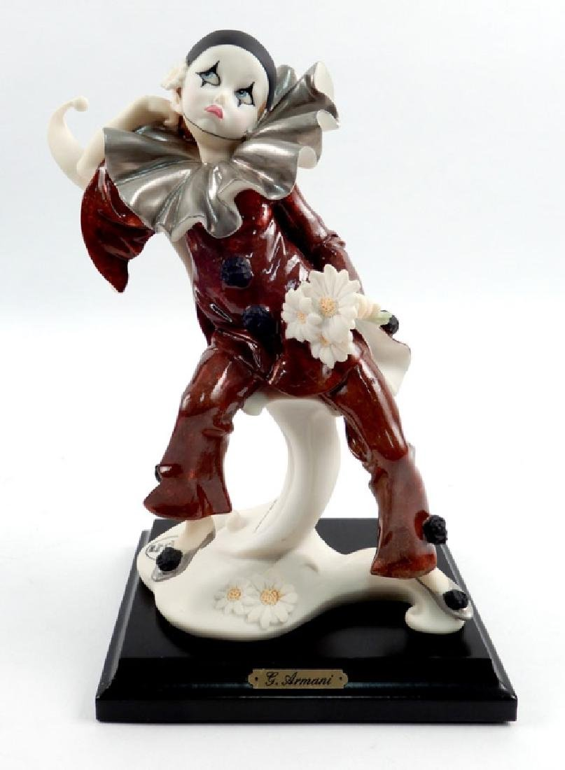 Giuseppe Armani Little Pierrot with Daisies figurine in - 2