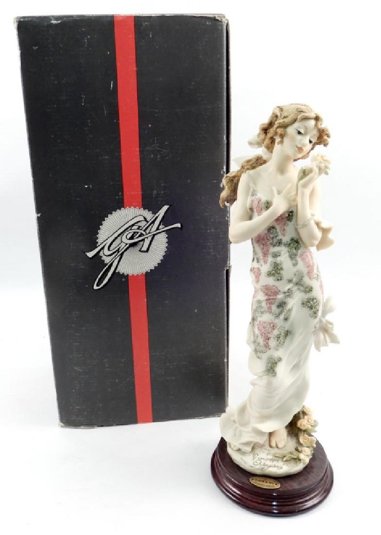 Giuseppe Armani Rose figurine No. 678C in original box