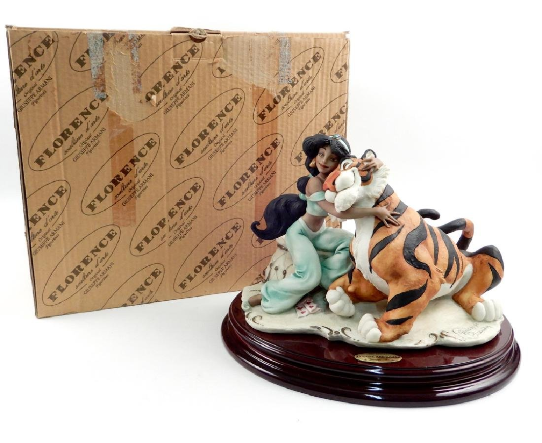 Giuseppe Armani Jasmine and Rajah figurine 410C in