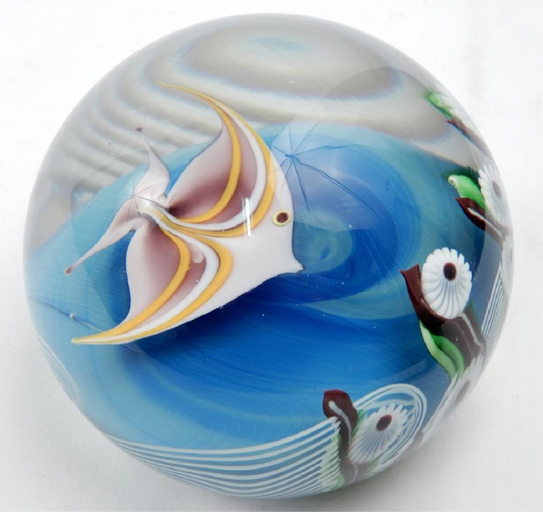 Orient & Flume art glass paperweight