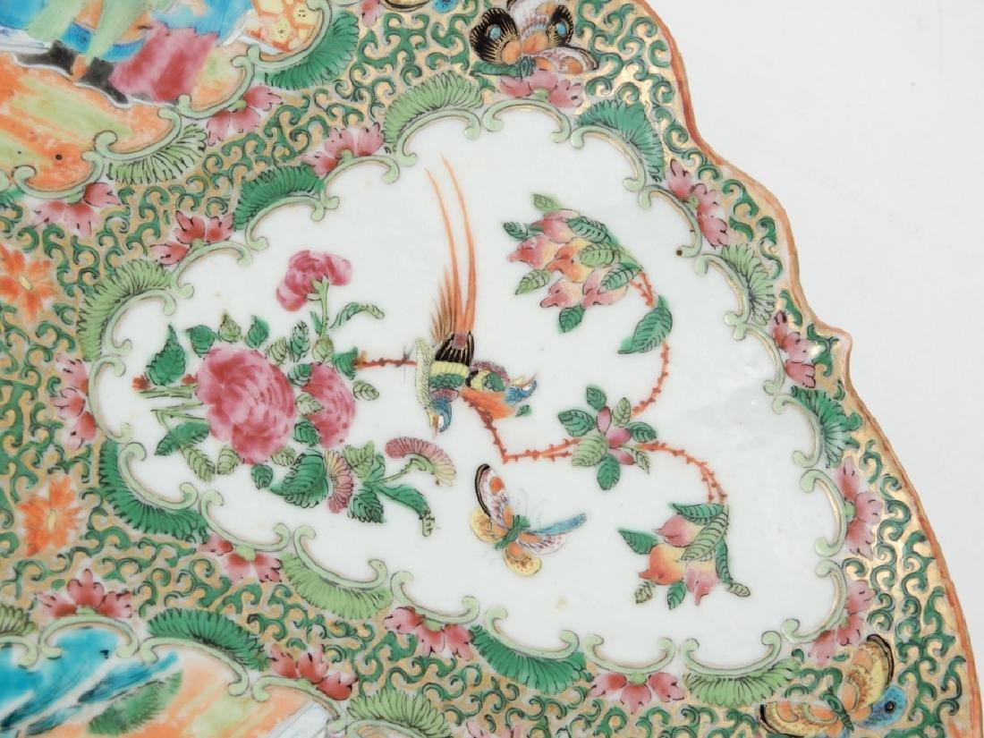 Chinese Rose Medallion porcelain plateau - 3